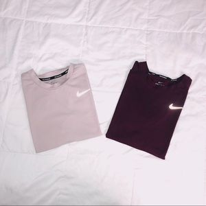 Nike long sleeve tops